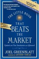 The Little Book That Still Beats the Market (English) 1 Edition (Paperback): Book by Joel Greenblatt, Andrew Tobias