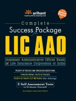 LIC AAO (E): Book by Arihant Experts