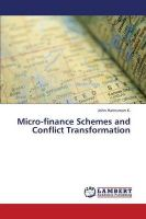 Micro-Finance Schemes and Conflict Transformation: Book by Hannsman K John