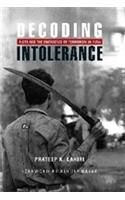 DECODING INTOLERANCE: Book by Prateep K. Lahiri