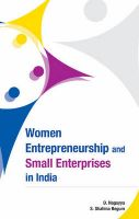 Women Entrepreneurship and Small Enterprises in India: Book by by D. Nagayya