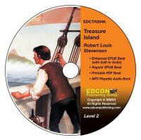 Treasure Island: High-Interest Chapter Book and Audio Files (Digital Files on CD-ROM): Book by Robert Louis Stevenson