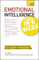 Teach Yourself Emotional Intelligence in a Week: Book by Jill Dann