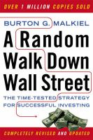 A Random Walk Down Wall Street: The Time-Tested Strategy for Successful Investing:Book by Author-Burton G. Malkiel