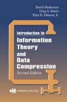 Introduction to Information Theory and Data Compression: Book by D.R. Hankerson , Greg A. Harris