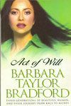 Act Of Will:Book by Author-Barbara Taylor Bradford