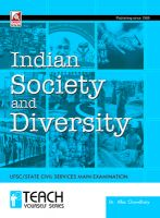 13.31.1- Indian Society & Diversity: Book by Dr. Alka Chowdhary
