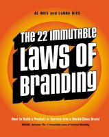 The 22 Immutable Laws of Branding: How to Build a Product or Service into a World-Class Brand: Book by Al Ries