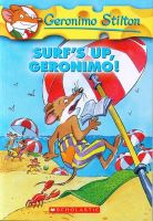 Surf's Up Geronimo!:Book by Author-Geronimo Stilton