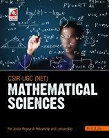 15.24-Mathematical Sciences CSIR-UGC (NET) (E): Book by Dr. (Prof.) V.N. Jha