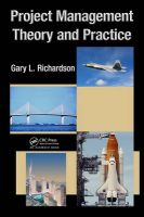 Project Management Theory and Practice: Book by Gary L. Richardson