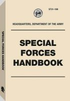 Special Forces Handbook: Book by U S Army