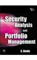 Security Analysis and Portfolio Management: Book by S. Kevin