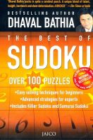 The Best Of Sudoku: Book by Dhaval Bathia
