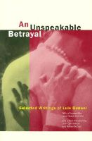An Unspeakable Betrayal: Selected Writings of Luis Bunuel: Book by Luis Bunuel