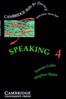 Speaking 4 Audio Cassette: Book by Collie Joanne, Slater, Stephen