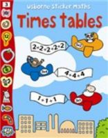 Usborne Sticker Maths Times Tables: Book by Fiona Watt