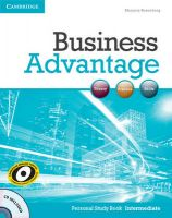 Business Advantage Intermediate Personal Study Book with Audio CD: Book by Marjorie Rosenberg