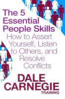 5 ESSENTIAL PEOPLE SKILLS (English) (Paperback): Book by Dale Carnegie Training
