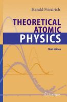 Theoretical Atomic Physics:Book by Author-Harald S. Friedrich