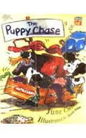 The Puppy Chase:Book by Author-June Crebbin