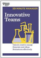 Innovative Teams (HBR 20-Minute Manager Series): Book by  HARVARD BUSINESS REVIEW