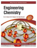 Engineering Chemistry (as Per Latest Anna University Syllabus ): Book by S. Vairam