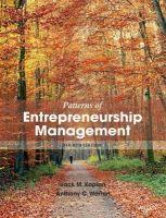Patterns of Enterpreneurship Management (English) 4th Edition: Book by Anthony C. Warren, Jack M. Kaplan