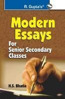 Modern Essays: Book by H S Bhatia