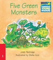 Five Green Monsters ELT Edition: Book by Juliet Partridge , Stella Voce