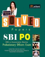 Previous Year's Solved Papers SBI PO (Probationary Officer's) Exam: Book by Arihant Experts