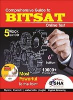 Comprehensive Guide to BITSAT Online Test (With CD) : Most Powerful to the Point (English) 6th Edition (Paperback): Book by Disha Experts