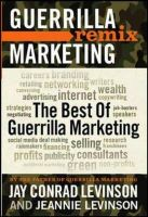 THE BEST GUERRILLA REMIX MARKETING: Book by LEVINSON