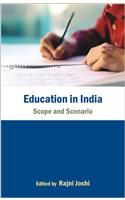 Education in India:Book by Author-Rajni Joshi