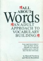 All About Words: Book by Maxwell Nurnberg , Morris Rosenblum