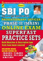 SBI PO Probationary Officer Phase - II (Main) Online Exam Superfast Practice Sets--English