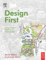 Design First: Design-based Planning for Communities: Book by David Walters ,Linda Brown