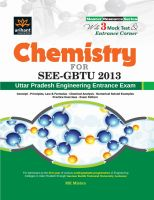Chemistry for SEE-GBTU 2013, UP Engineering Entrance Exam:Book by Author-M K Mishra