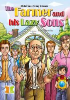 Children's Story Corner: The Farmer and his Lazy Sons: Book by Ratna Manucha