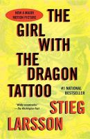 The Girl with the Dragon Tattoo: Book 1 of the Millennium Trilogy: Book by Stieg Larsson