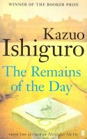 The Remains of the Day:Book by Author-Kazuo Ishiguro