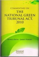 Commentary On The National Green Tribunal Act, 2010: Book by Ritwick Dutta & Sanjeet Purohit
