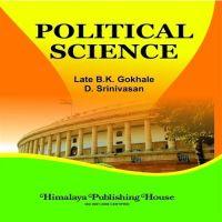 Political Science: Book by B.K. Gokhale, D.Srinivasan