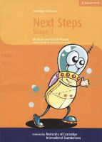Cambridge ICT Starters: Next Steps Microsoft Stage 1: Stage 1: Book by Jill Jesson , Graham Peacock