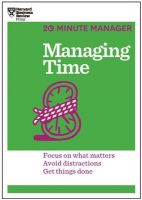 Managing Time (English) (Paperback): Book by HARVARD BUSINESS REVIEW STAFF