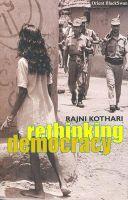 Rethinking Democracy: Book by Rajni Kothari