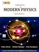 Concepts of Modern Physics (Special Indian Edition):Book by Author-BEISER