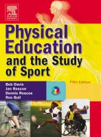 Physical Education and the Study of Sport: Book by Robert Davis