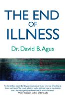 The End of Illness: A New Perspective on Health That Changes Everything:Book by Author-David B. Agus