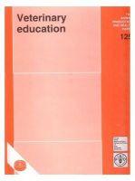Veterinary Education/Fao: Book by FAO